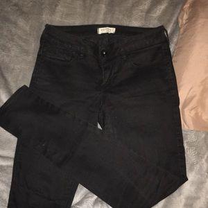 Bullhead Black - Black skinny jeans